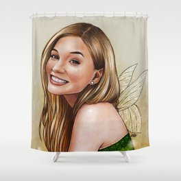Olivia Holt Shower Curtain