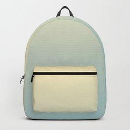 FADING AWAY - Minimal Plain Soft Mood Color Blend Prints Backpack