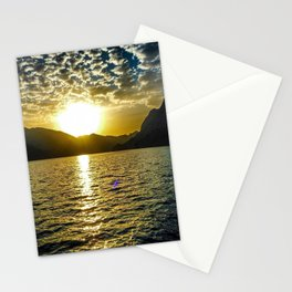 Sunset view in Muscat Oman Stationery Cards