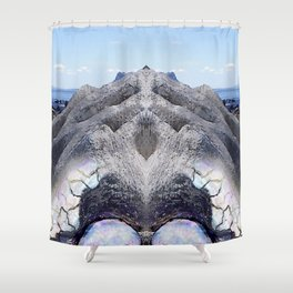 Living Rock Shower Curtain