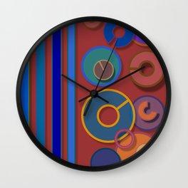 Abstract #54 Wall Clock