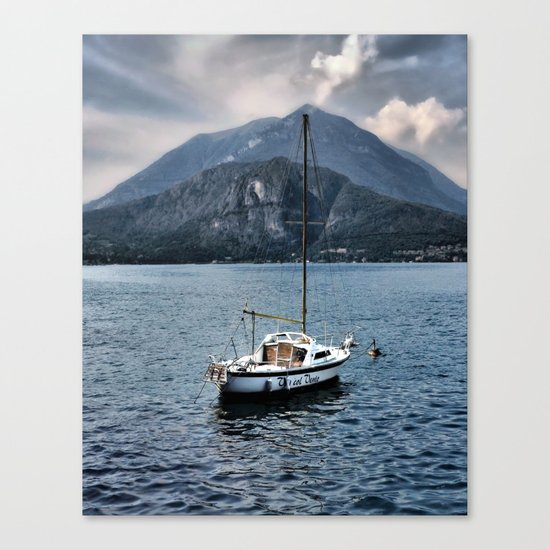 Rock Me On The Water Canvas Print