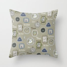 Time Waits or No One Throw Pillow