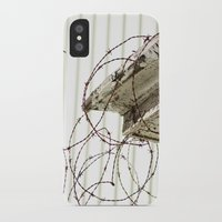 the wire iPhone & iPod Cases featuring The Wire by Shy Photog