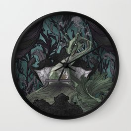 Creature Comforts: Nessie Wall Clock