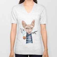 Sphynx Cat II Unisex V-Neck
