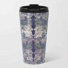 Blue Repeat Metal Travel Mug