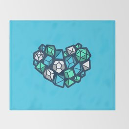 Heart of a Dungeon Master Throw Blanket