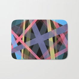 Colors in the Night Bath Mat