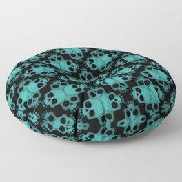 Cool Skull Jigsaw Floor Pillow