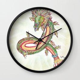 Serpiente emplumada Wall Clock