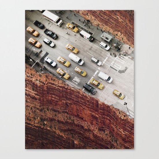 overpass Canvas Print