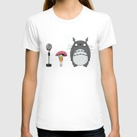 tim shumate T-shirts featuring Tim Burton Totoro by Grace Isabel