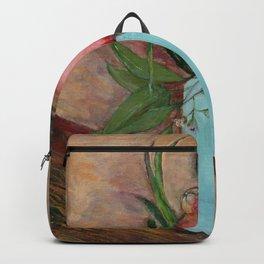 Blue vase & pomegranate  Backpack