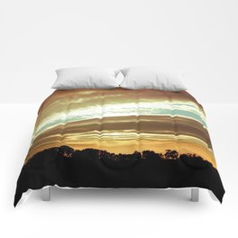 Dawn On The Side Comforters