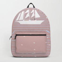 Bright Nights & Yachts Backpack