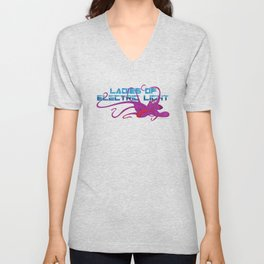 Emma the Wonder Octopus Unisex V-Neck