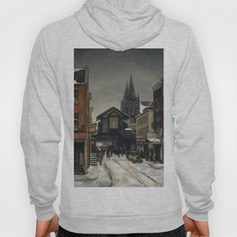 American Masterpiece 'Christopher Street - Greenwich Village' by Beulah Bettersworth Hoody