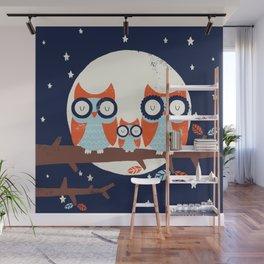 Night Owls Wall Mural
