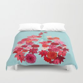 Simply Breathe - Lungs For Whitney Duvet Cover