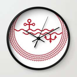 SINK-IN Wall Clock
