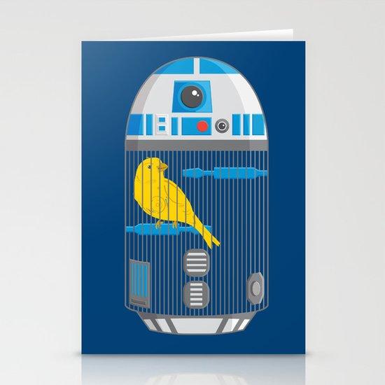 R2 Birdcage Stationery Cards