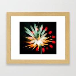 Geometric Firework 10 Framed Art Print