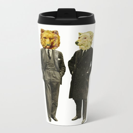 The Likely Lads Metal Travel Mug