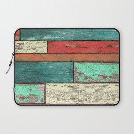 Cubic Wood 2 Laptop Sleeve