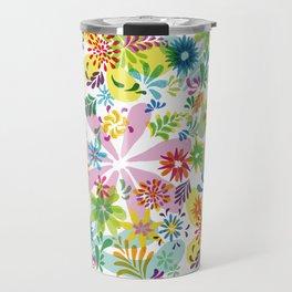 Flowerpower_2 Travel Mug