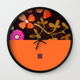 black&pink1 Wall Clock