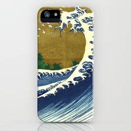 Katsushika Hokusai Big Wave iPhone Case