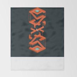 Monument Maze Throw Blanket