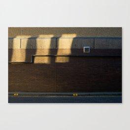 Surface Tension: Grosvenor Lane, Glasgow Canvas Print