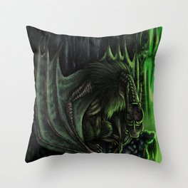 The Hybrid Wings Throw Pillow