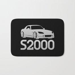Honda S2000 - silver - Bath Mat