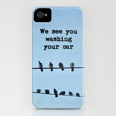 When Pigeons Plan... Slim Case iPhone (4, 4s)