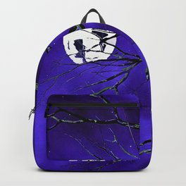 Tree Branches and a Silver Moon Backpack
