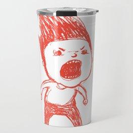 Angry Guy Travel Mug