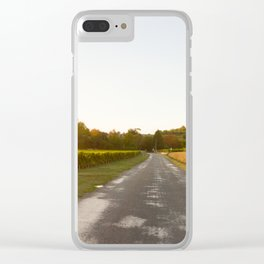 Driving in Bordeaux Clear iPhone Case