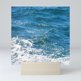 Ocean Wave Heading Toward Shore Mini Art Print