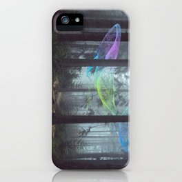 Whale Music in the Forest iPhone Case