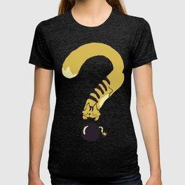 Question Mark (Curiosity Kills The Cat) T-shirt