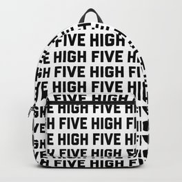 high five Backpack