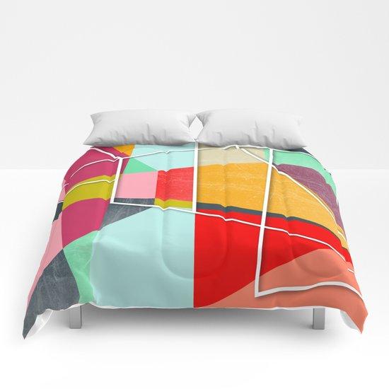 ColorBlock V Comforters