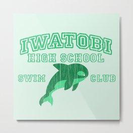 Iwatobi - Orca Metal Print