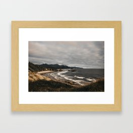Waves from Above Framed Art Print