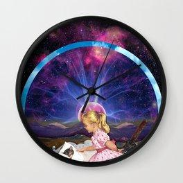 Kitty Litter Wall Clock