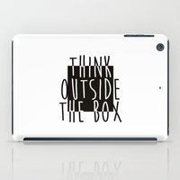 quote iPad Cases featuring Quote by Motivational