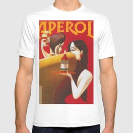 Aperol Alcohol Aperitif Spritz Vintage Advertising Poster T-shirt